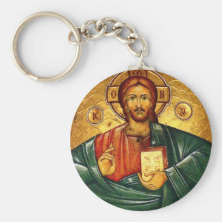 Llavero de Hristos Iisus Isus del Jesucristo