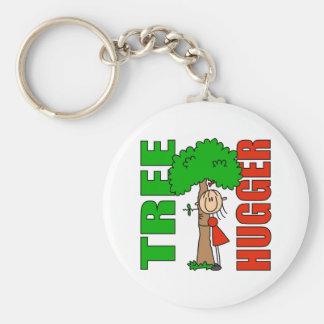 Llavero de Hugger del árbol