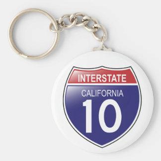 Llavero de I-10 California