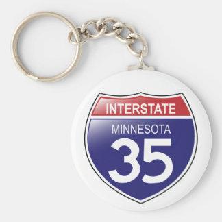 Llavero de I-35 Minnesota