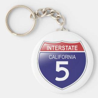 Llavero de I-5 California