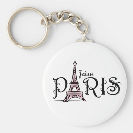 Llavero de J'aime París