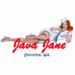 Llavero de Java Jane Esculturas Fotográficas