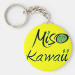 Llavero de Kawaii del Miso