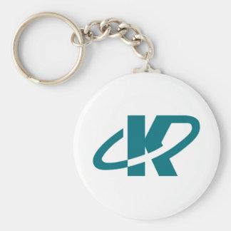 Llavero de KCP con el logotipo