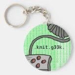 llavero de .knit.g33k