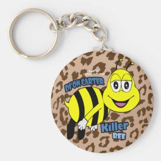 Llavero de la abeja de asesino del leopardo de