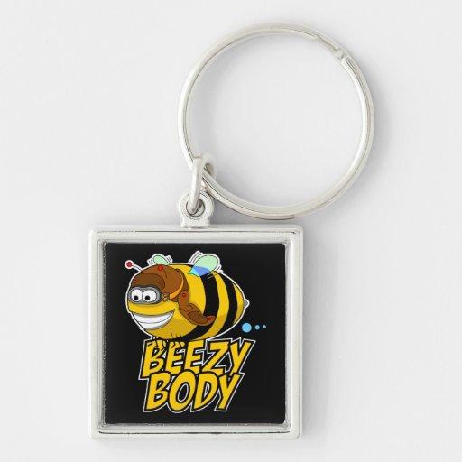Llavero de la abeja del cuerpo de Beezy