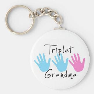 Llavero de la abuela del trío - BBG