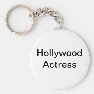 Llavero de la actriz de Hollywood
