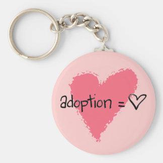 Llavero de la adopción