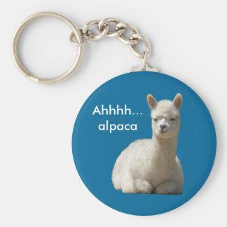 Llavero de la alpaca de Ahhhh
