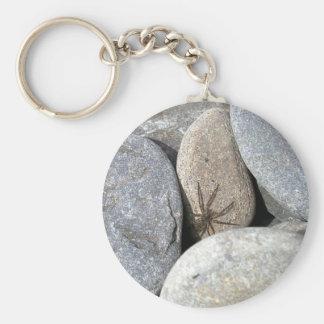 Llavero de la araña de la roca