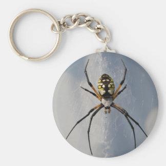 Llavero de la araña del Argiope