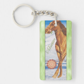 Llavero de la aventura del caballo