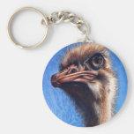 Llavero de la avestruz