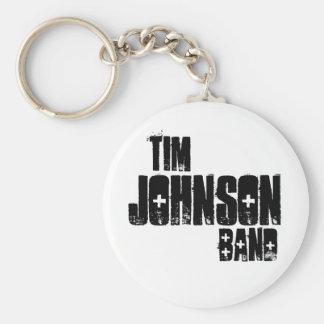 Llavero de la banda de Tim Johnson