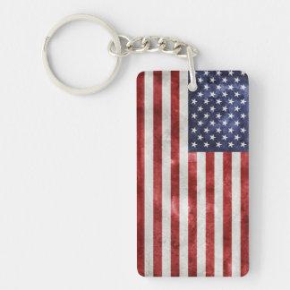 Llavero de la bandera americana