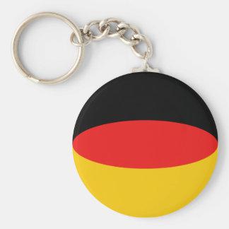 Llavero de la bandera de Alemania Fisheye