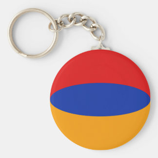 Llavero de la bandera de Armenia Fisheye