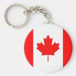 Llavero de la bandera de Canadá