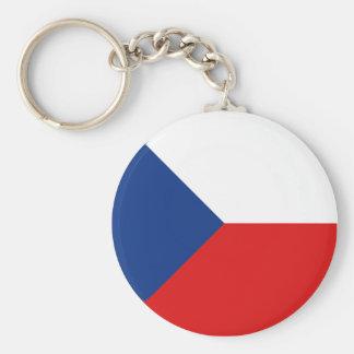 Llavero de la bandera de Czechia Fisheye