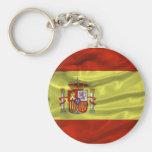 Llavero de la bandera de España