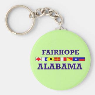Llavero de la bandera de Fairhope