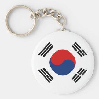 Llavero de la bandera de Fisheye de la Corea del