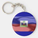 llavero de la bandera de Haití