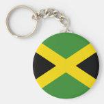 Llavero de la bandera de Jamaica