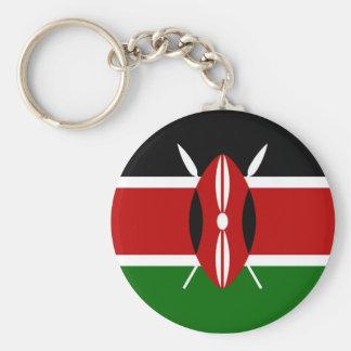 Llavero de la bandera de Kenia