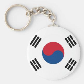Llavero de la bandera de la Corea del Sur