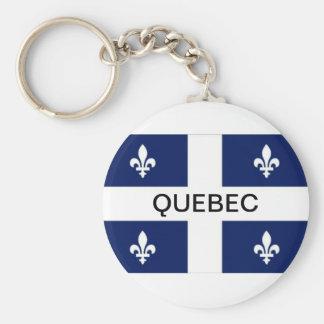Llavero de la bandera de la provincia de Quebec