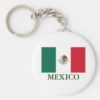Llavero de la bandera de México