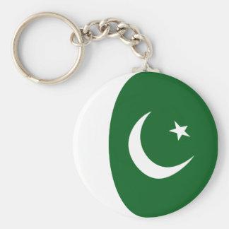 Llavero de la bandera de Paquistán Fisheye