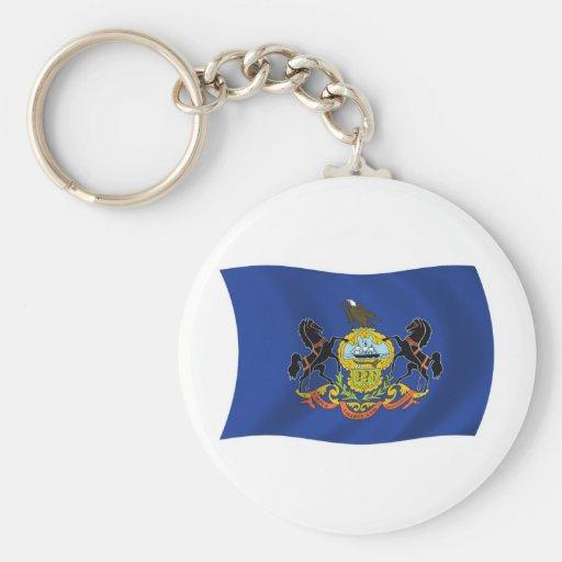 Llavero de la bandera de Pennsylvania