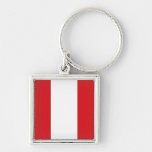 Llavero de la bandera de Perú