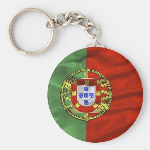 Llavero de la bandera de Portugal