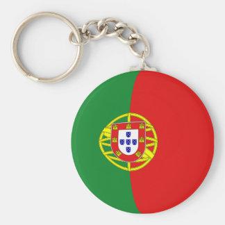 Llavero de la bandera de Portugal Fisheye