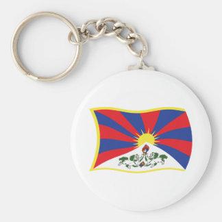 Llavero de la bandera de Tíbet