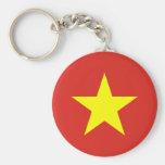 Llavero de la bandera de Vietnam