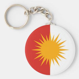 Llavero de la bandera de Yezidi