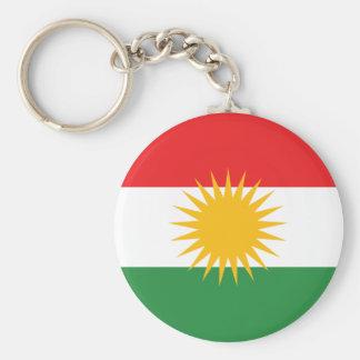Llavero de la bandera del Kurdistan