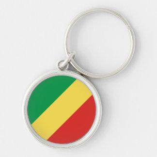 Llavero de la bandera del República del Congo