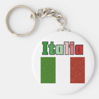 Llavero de la bandera del vintage de Italia