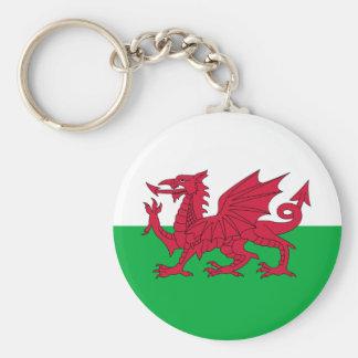 Llavero de la bandera Galés