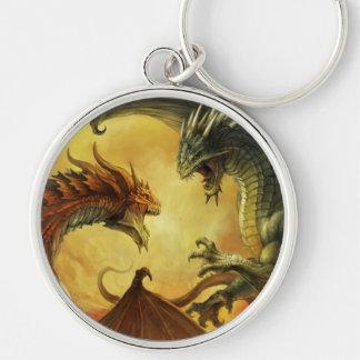 Llavero de la batalla del dragón