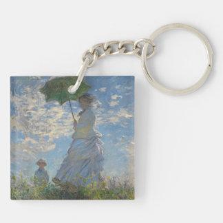 Llavero de la bella arte de Claude Monet