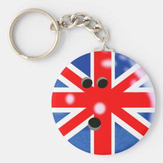 Llavero de la bola de bolos de Gran Bretaña